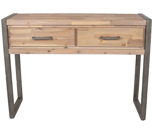 The Botallack Collection Wood & Metal Console Table K/D