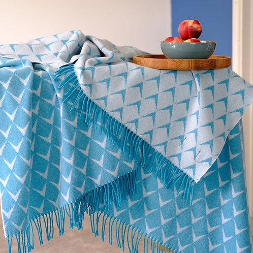 Coastal Surf Merino Wool Blanket