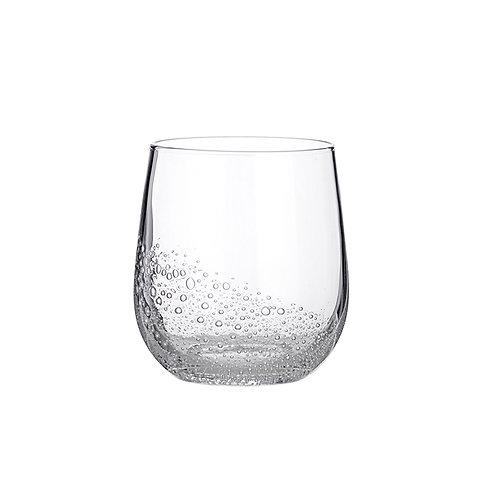 TUMBLER 'BUBBLE' GLASS