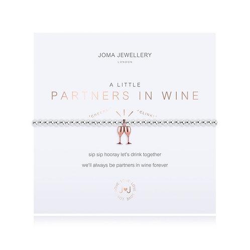 'A Little Partners In Wine' Bracelet