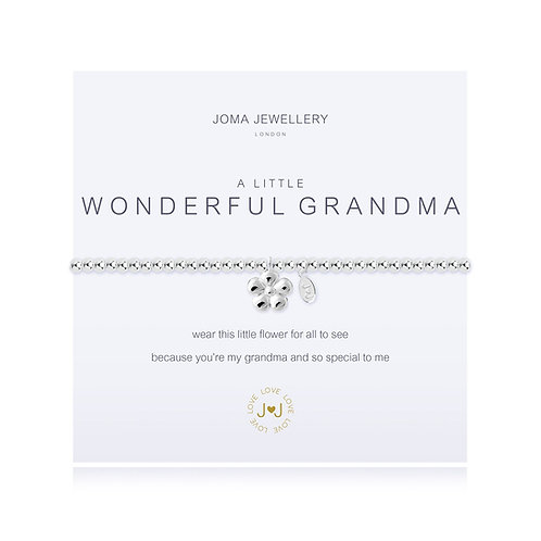 'A Little Wonderful Grandma' Bracelet