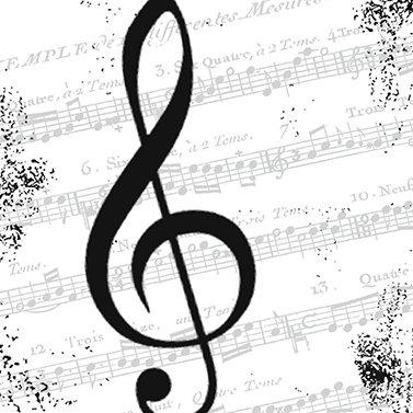 I Love Music Napkins