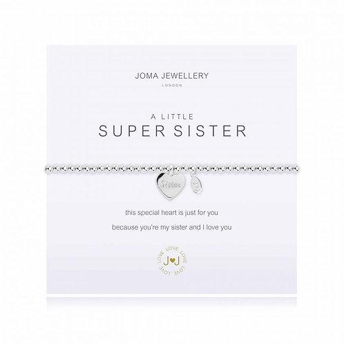 'A Little Super Sister' Bracelet