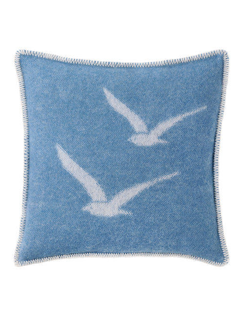 Sea Gull Cushion Cover Double Sided Reversed Out Design