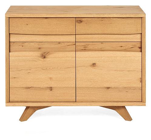 Cadell Rustic Oak Narrow Sideboard