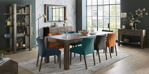 Turin Dark Oak Large End Extension Table