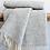 Thumbnail: Beehive Grey Pure New Wool Sand Blanket