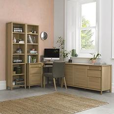 bergen oak office range bentley designs