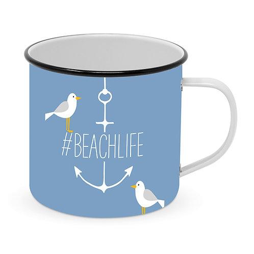 Beach metal cup metal cup 400ml