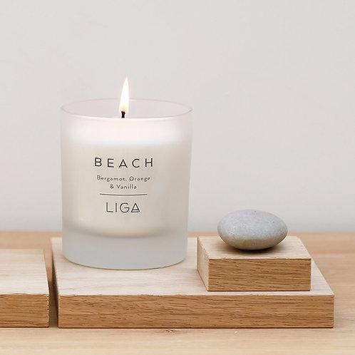 Beach Scented Candle Bergamot, Orange & Vanilla