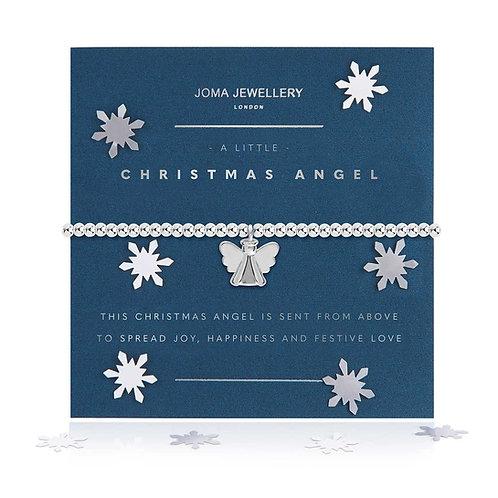 A LITTLE CHRISTMAS ANGEL BRACELET SNOW GLOBE