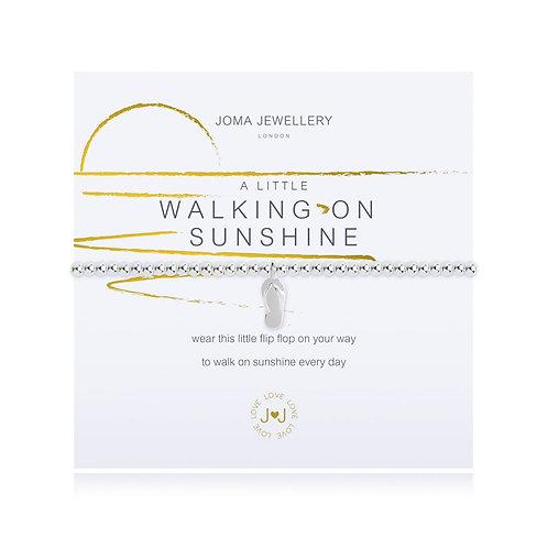 'A Little Walking On Sunshine' Bracelet