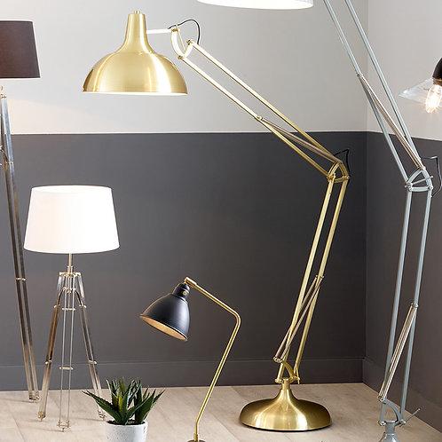 Brass Task Floor Lamp