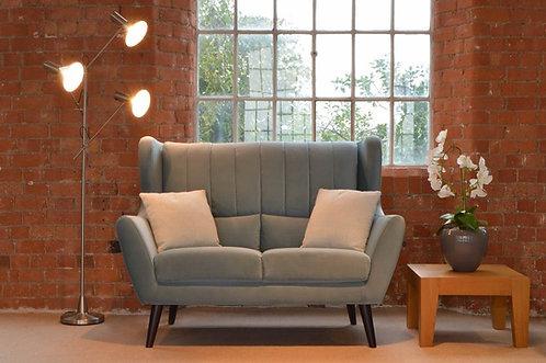 front view of sofa Rebecca Sofa Range siren sand cornwall stives