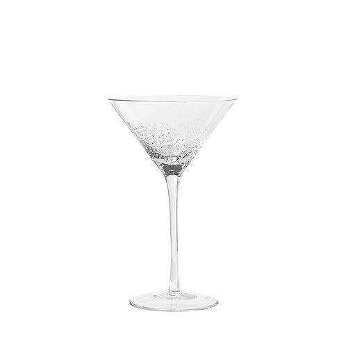 MARTINI GLASS 'BUBBLE' GLASS