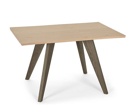 Cadell Aged Oak 4 Seater Dining Table