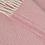 Thumbnail: Dusky Pink & Pearl Herringbone Pure New Wool Sand Blanket