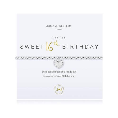 'A Little Sweet 16th Birthday' Bracelet