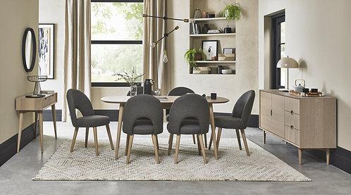 Dansk Scandi Oak 6-8 Extending Dining Table