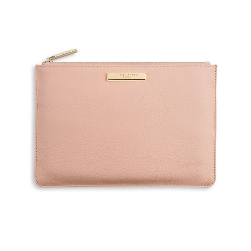 SOFT PEBBLE PERFECT POUCH | BLUSH PINK