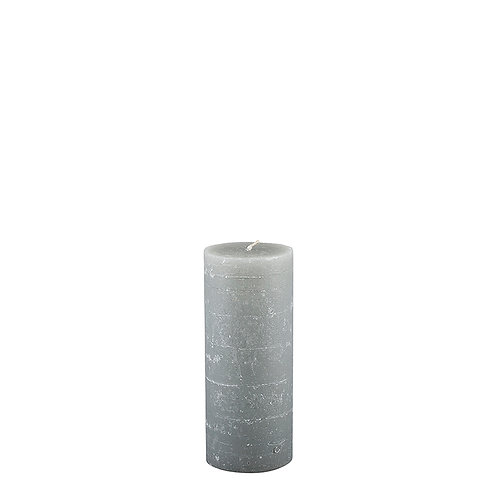 A Rainy Day Rustic Pillar Candle