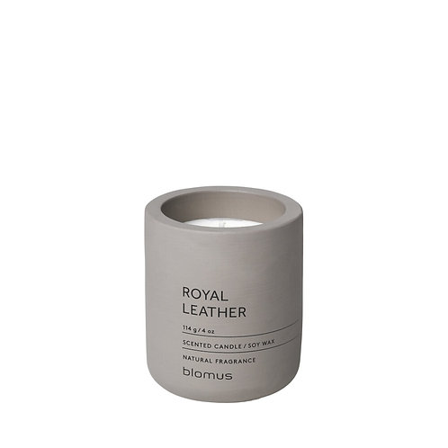 Fraga scented candle S royal leather satellite