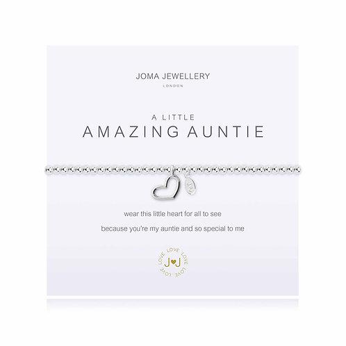 'A Little Amazing Auntie' Bracelet