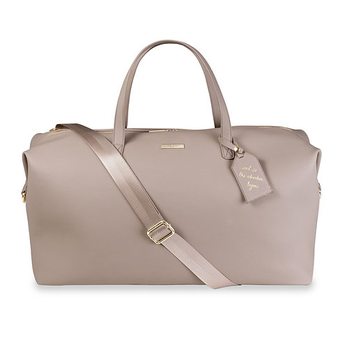 Katie Loxton Weekend Holdall Bag Taupe