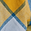 Thumbnail: Ink & Yellow Block Check Pure New Wool Sand Blanket