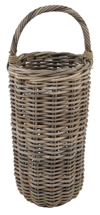 Grey Kubu Umbrella Basket