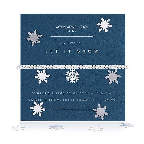 A LITTLE CRACKING CHRISTMAS BRACELET SNOW GLOBE