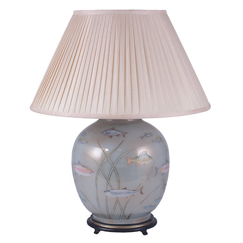 Fish Glass Large Table Lamp