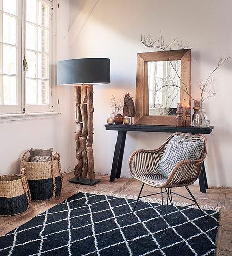 GABROVO Wood Floor Lamp