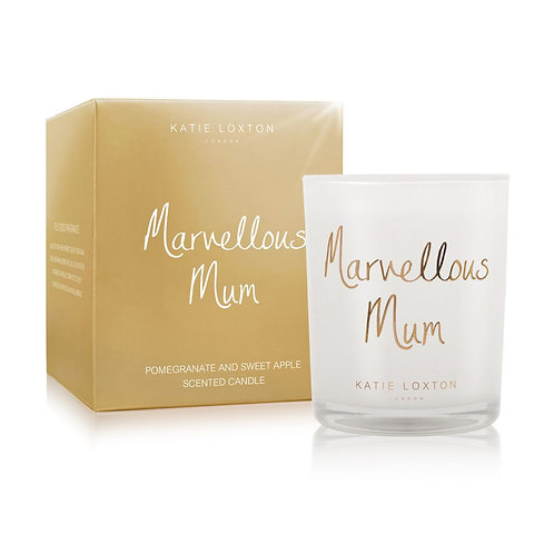 Katie Loxton 'Marvellous Mum' Scented Candle