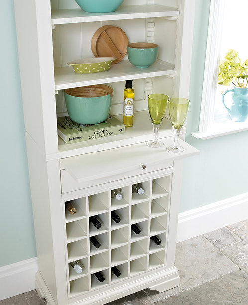 Hampstead Two Tone Wine Rack