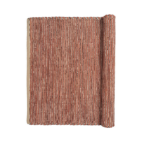 Broste Cotton Rug 'Magna' Rustic Brown