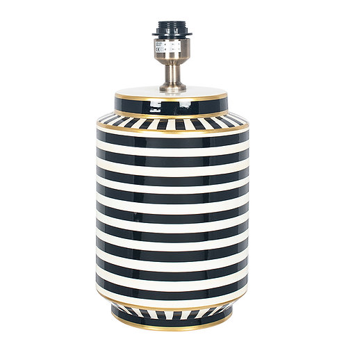 Humbug Black and White Tall Table Lamp