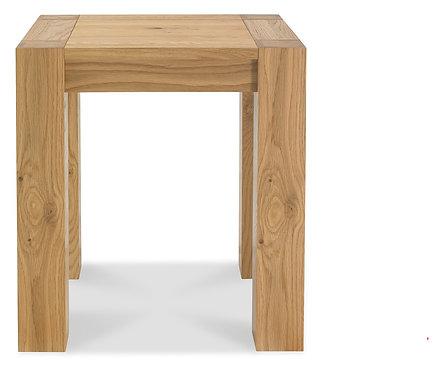 Turin Light Oak Lamp Table
