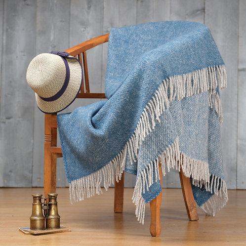 Ink Boa Pure New Wool Sand Blanket