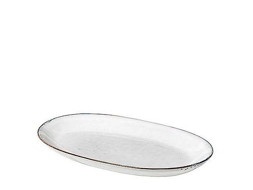 Broste Nordic Sand Large Oval Plate