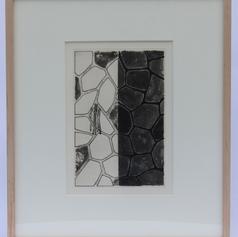 32. Flagstones (b), 1976 Flagstones 10 1/2 x 7 1/16 in. Etching, lift-ground aquatint and burnishing