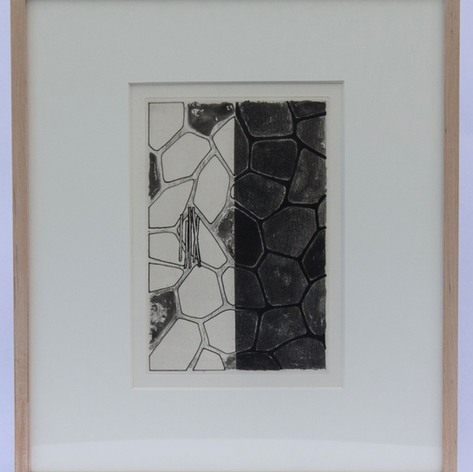32. Flagstones (b), 1976 Flagstones 10 1/2 x 7 1/16 in. Etching, lift-ground aquatint and burnishing