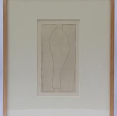 28. Leg (c), 1976 Jambe 10 5/16 x 5 3/8 in. Etching
