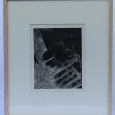 45. Handfootsockfloor, 1976 Mainpiedchaussetteterrasse 9 5/8 x 7 1/2 in. Etching, lift-ground aquatint, stop-out, open-bite, scraper, and burnishing