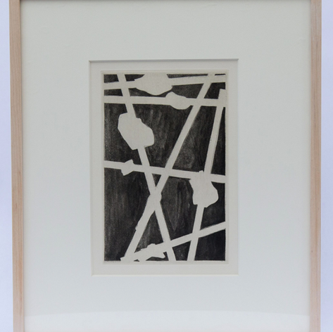 38. Casts, 1976 Plâtres 10 1/2 x 7 1/16 in. Etching and lift-ground aquatint