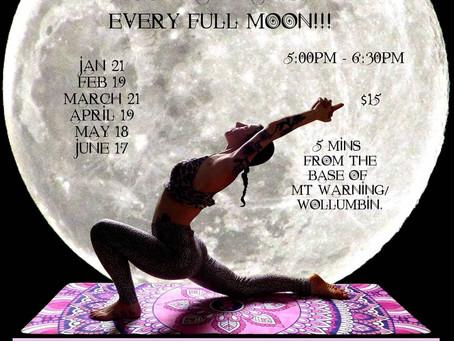 Chandra Namaskar- Full moon salutations
