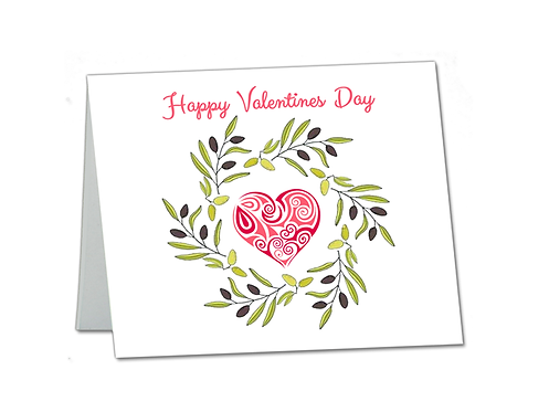 Valentine Card with Your Personalized Message