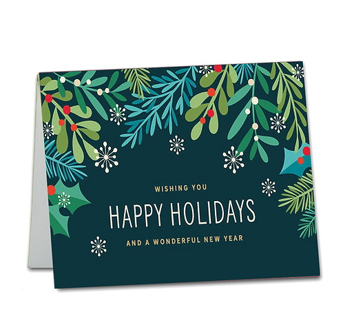 Holiday Gift Card with Your Personalized Message