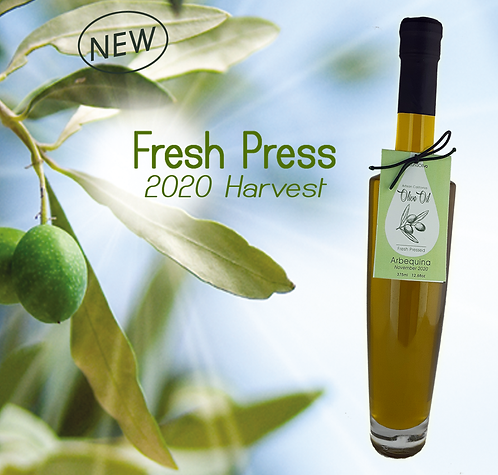 Fresh Press 2020 Harvest