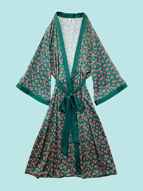 Kimono Robe_サンゴグリーンRB0125